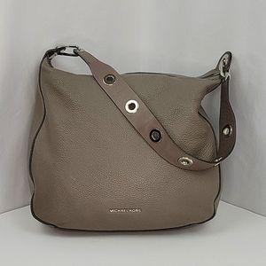Michael Kors Raven Hobo Bag in Putty Grey